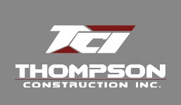Thompson Construction gray background