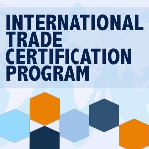 International Trade Certification Program