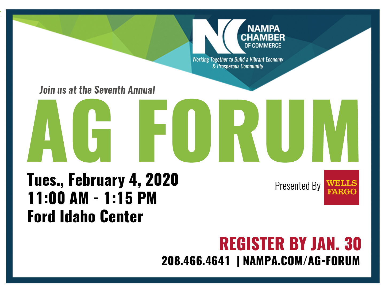 2020 Nampa Chamber AG Forum