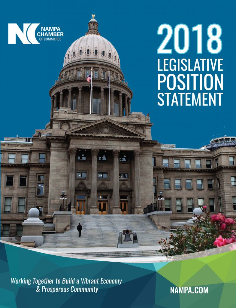 2018 Legislative Position Statement Cover