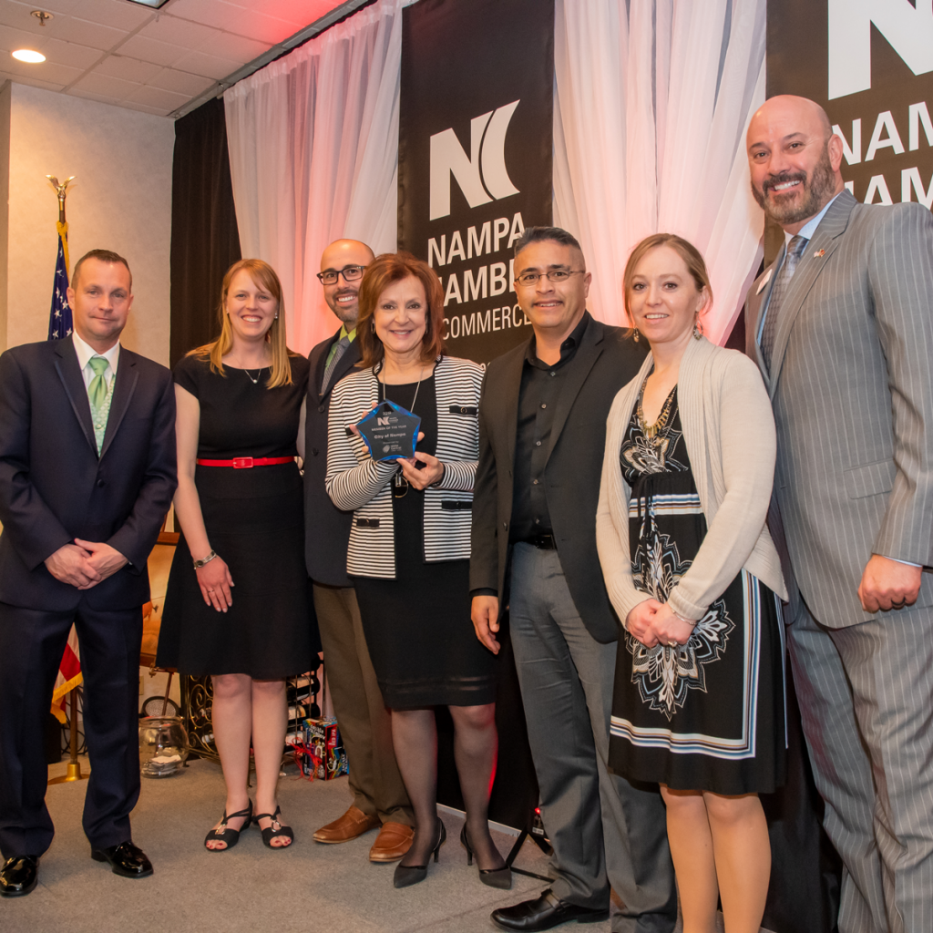 2019 Chamber Member of the Year, City of Nampa