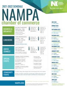 Nampa Chamber Events Calendar