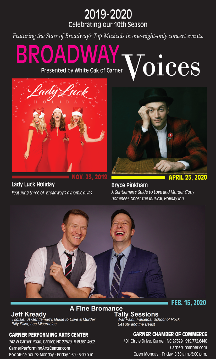 Broadway Voices Flyer