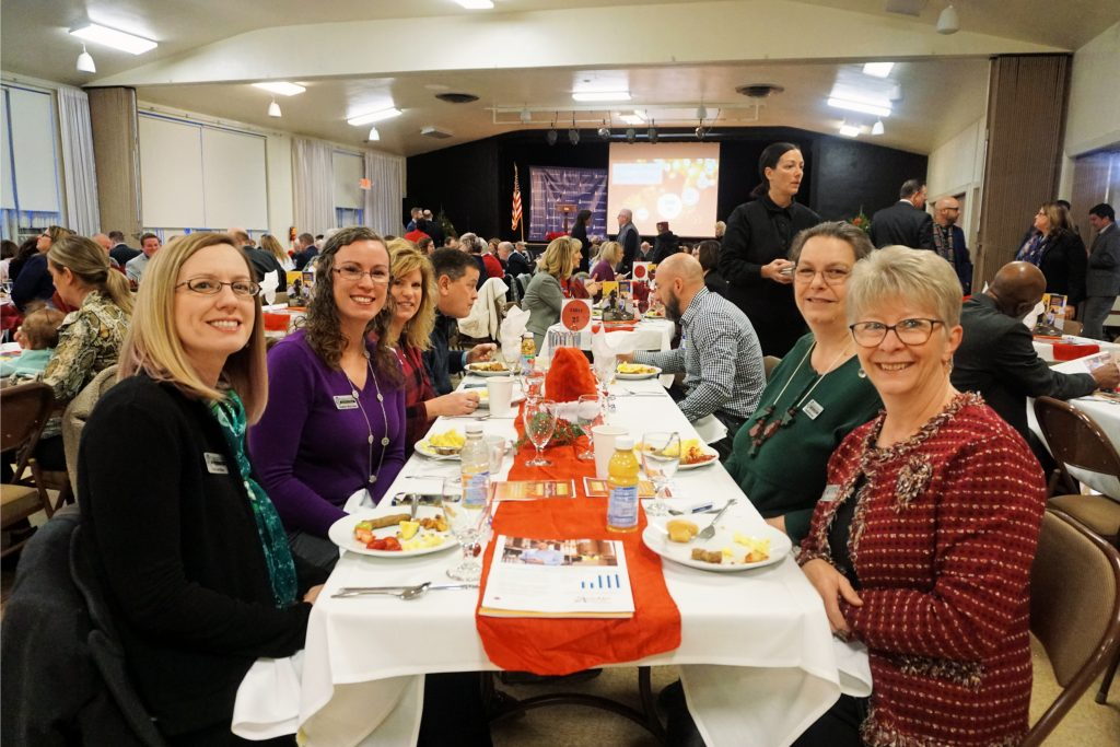 The Chambers Annual Meeting had a record crowd of 260 people attend.