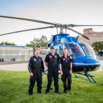 classic airmed helicopter