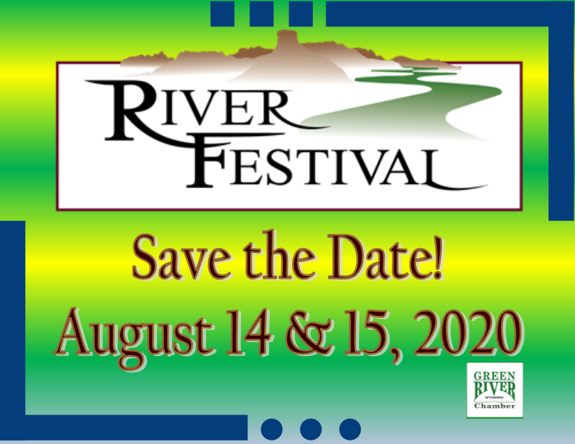 River Festival Save the Date August 14 & 15, 2020