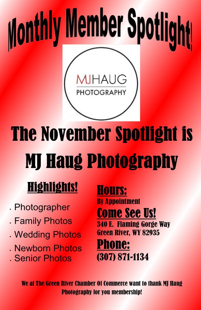 Monthly Member Spotlight MJ Haug Photography