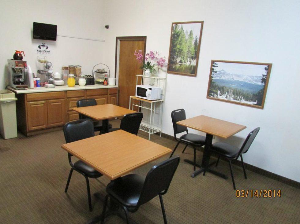 Western Inn Breakfast Area