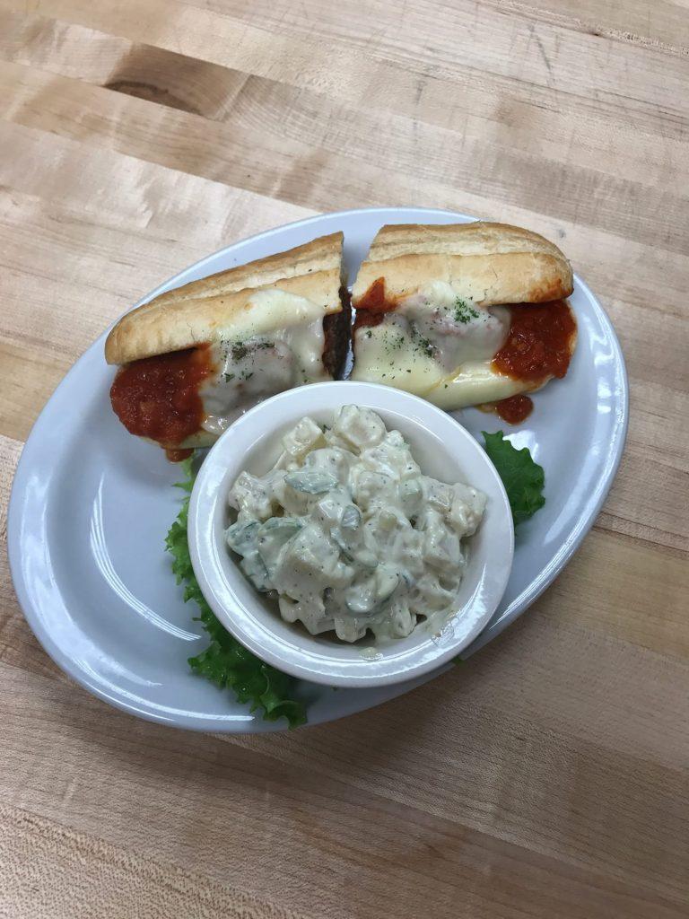 gudinos meatball sandwich