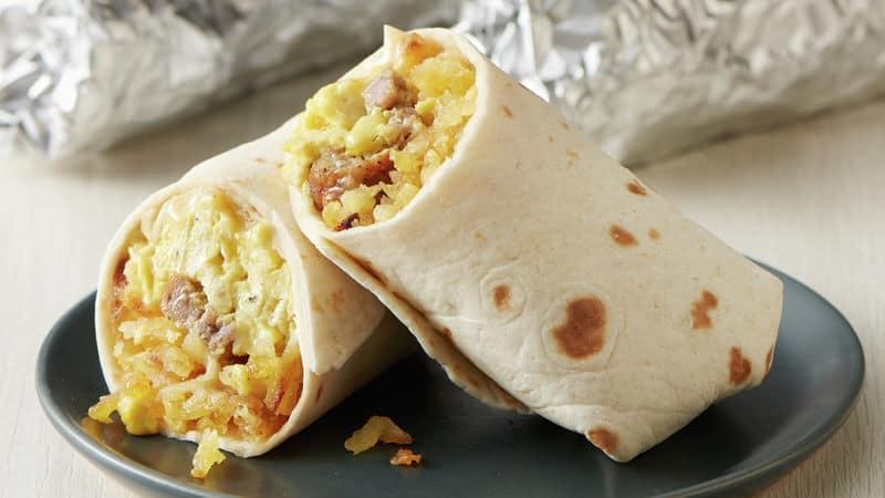 hitching post breakfast burrito