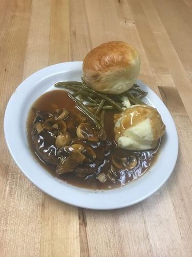 mushroom steak
