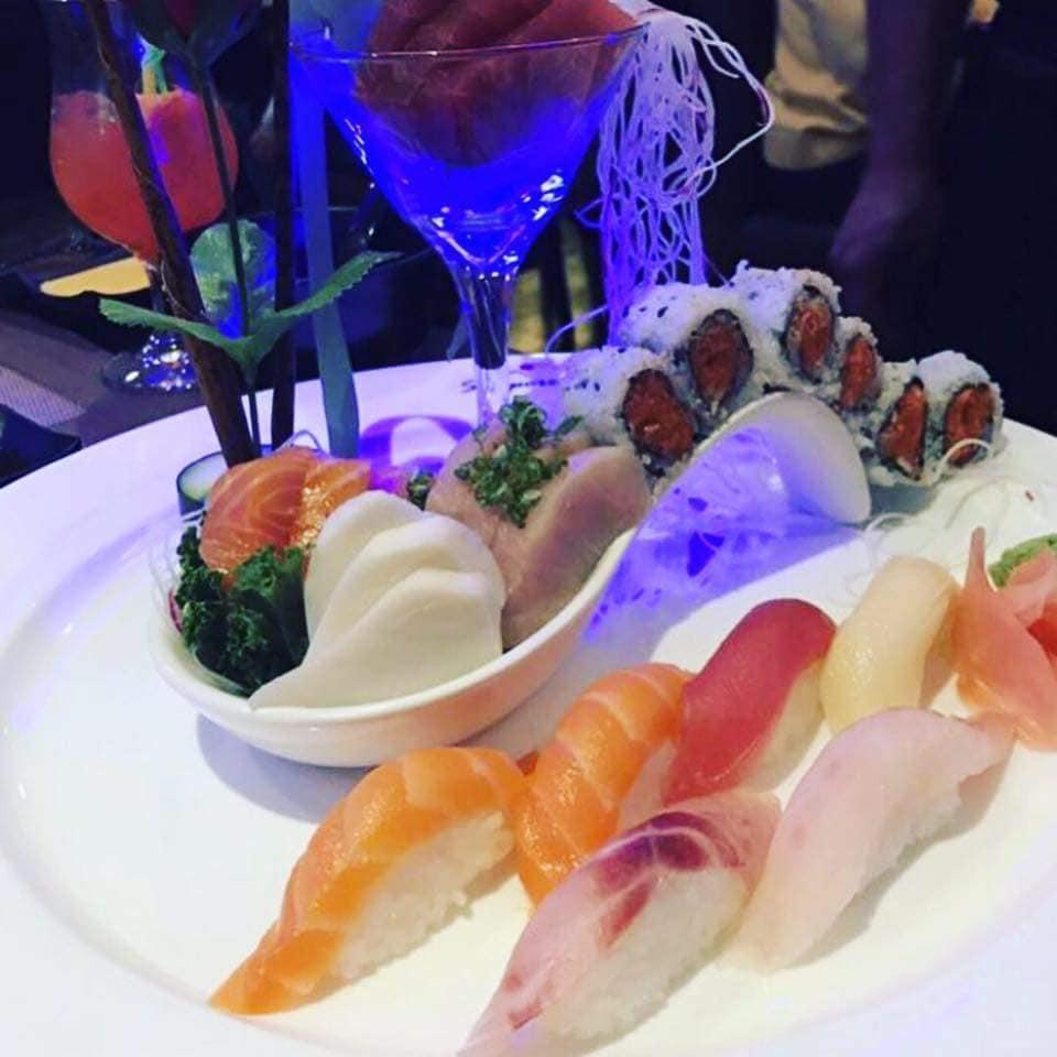 sapporos sushi plate