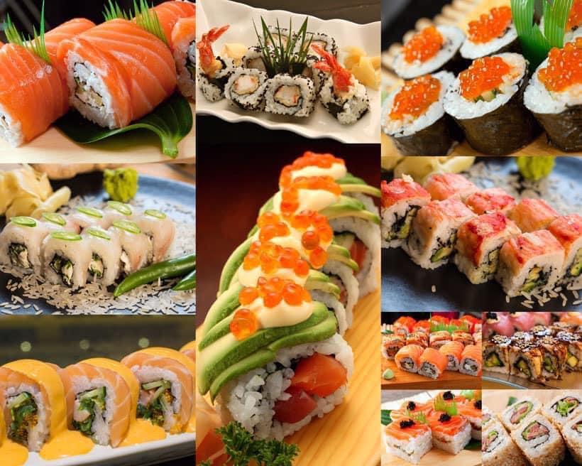 sapporos sushi rolls