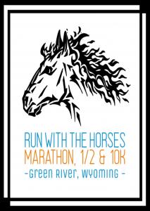 Run with the horses logo