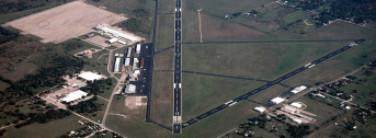 Mineral Wells Airport, High Aerial View