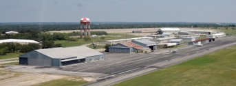 Mineral Wells Airport, Low Aerial View