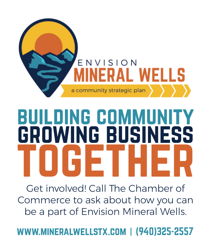 Envision Mineral Wells Map Ad