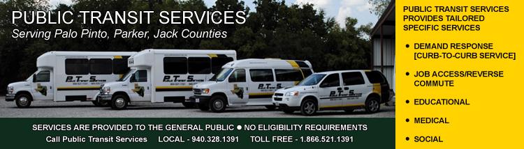 Public Transit Services Flyer