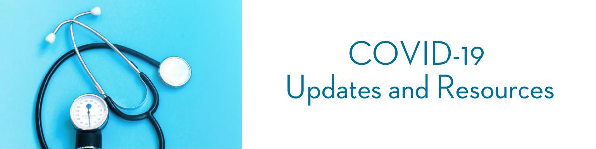 Coronavirus Updates Page Header