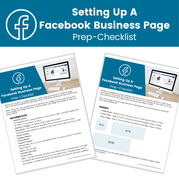 Facebook Page Checklist Email