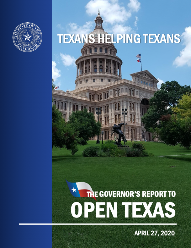 Governor Abbott's Plan to Open Texas