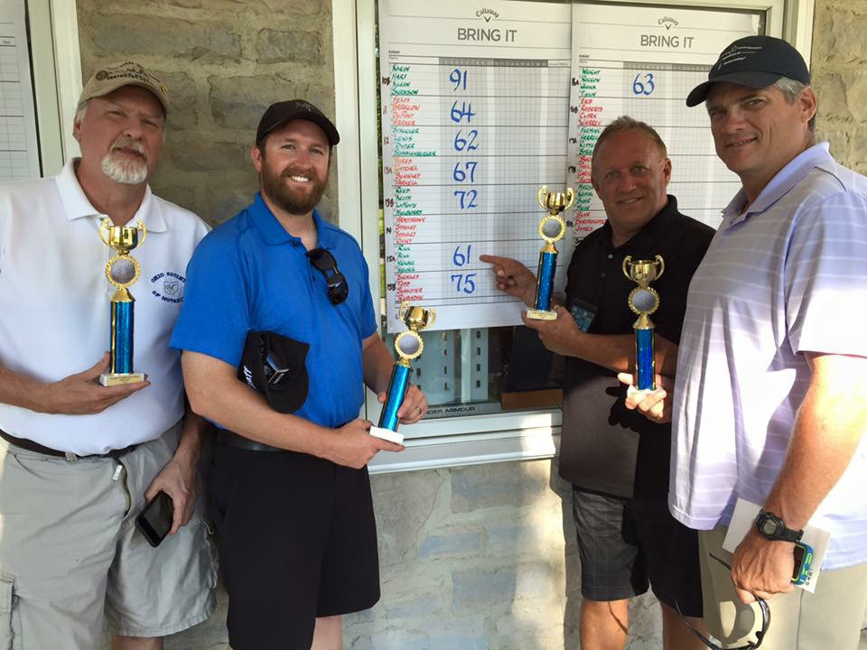 golf outing winners