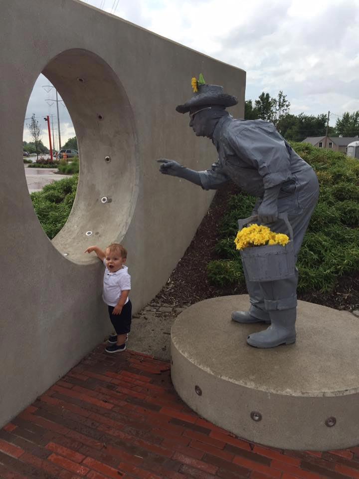 HSP Statue