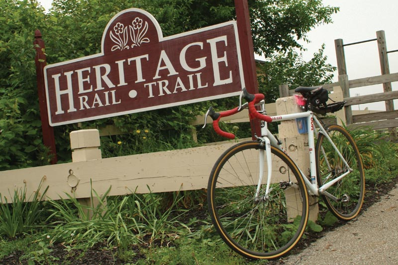Heritage Rail Trail Sign