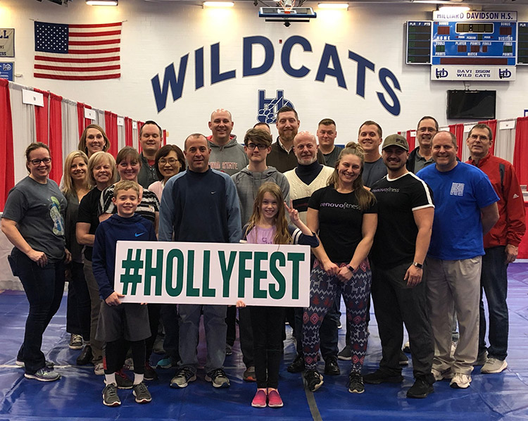 Hollyfest volunteers