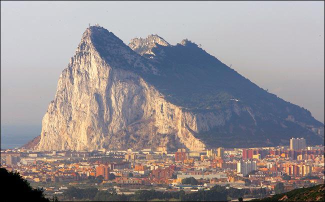 Spain - Rock of Gibralter