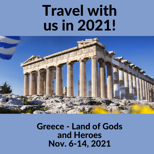 Greece travel logo for webiste