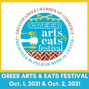 Greer Arts & Eats News Release