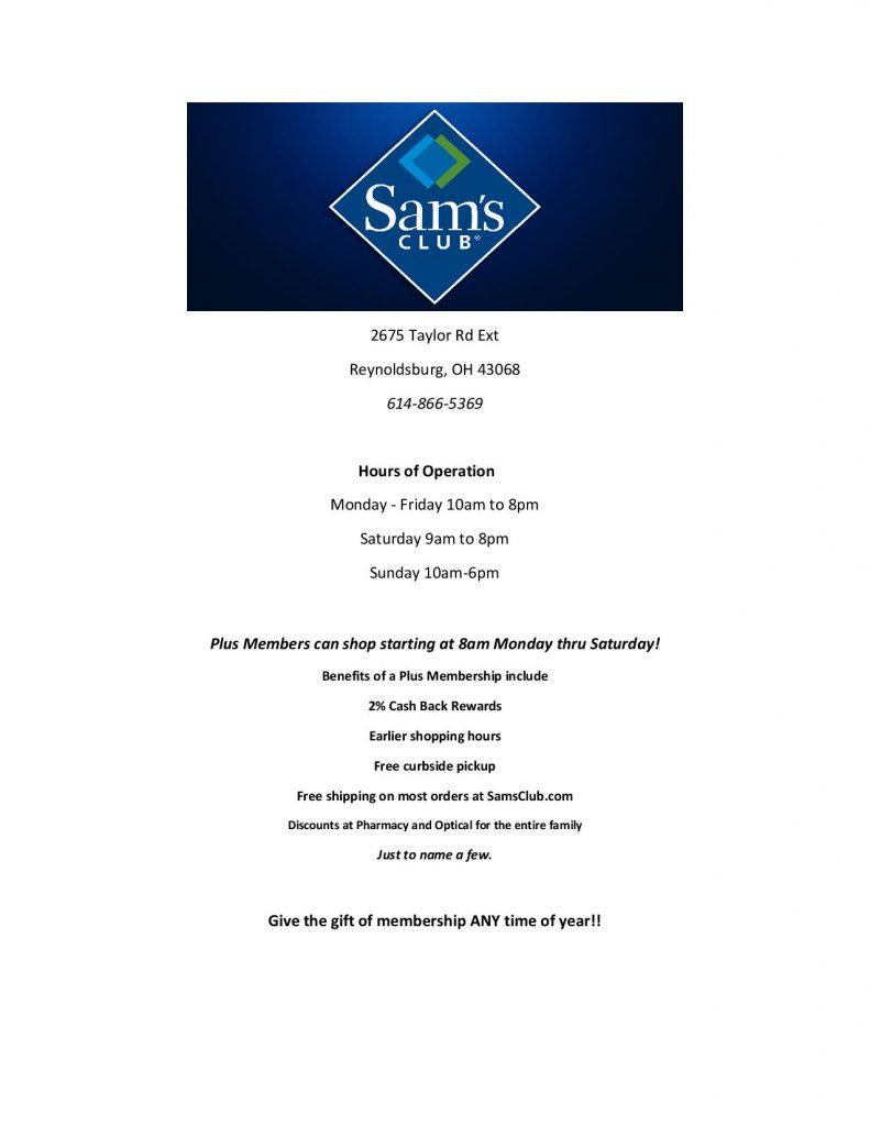 Sams Club Ad