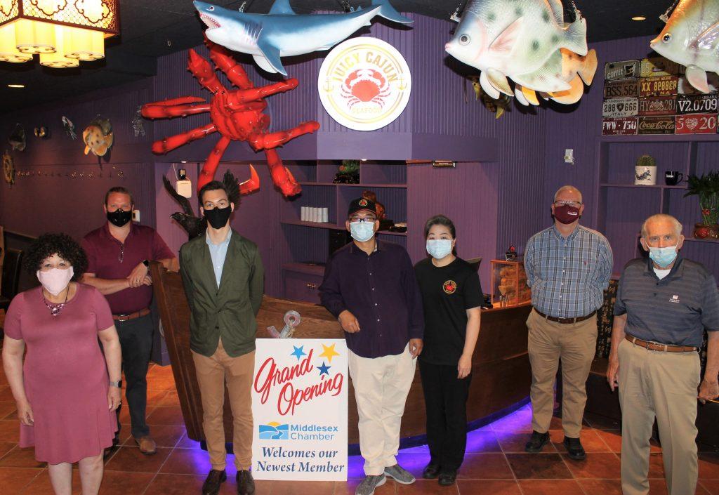 Juicy Cajun Seafood Grand-Opening