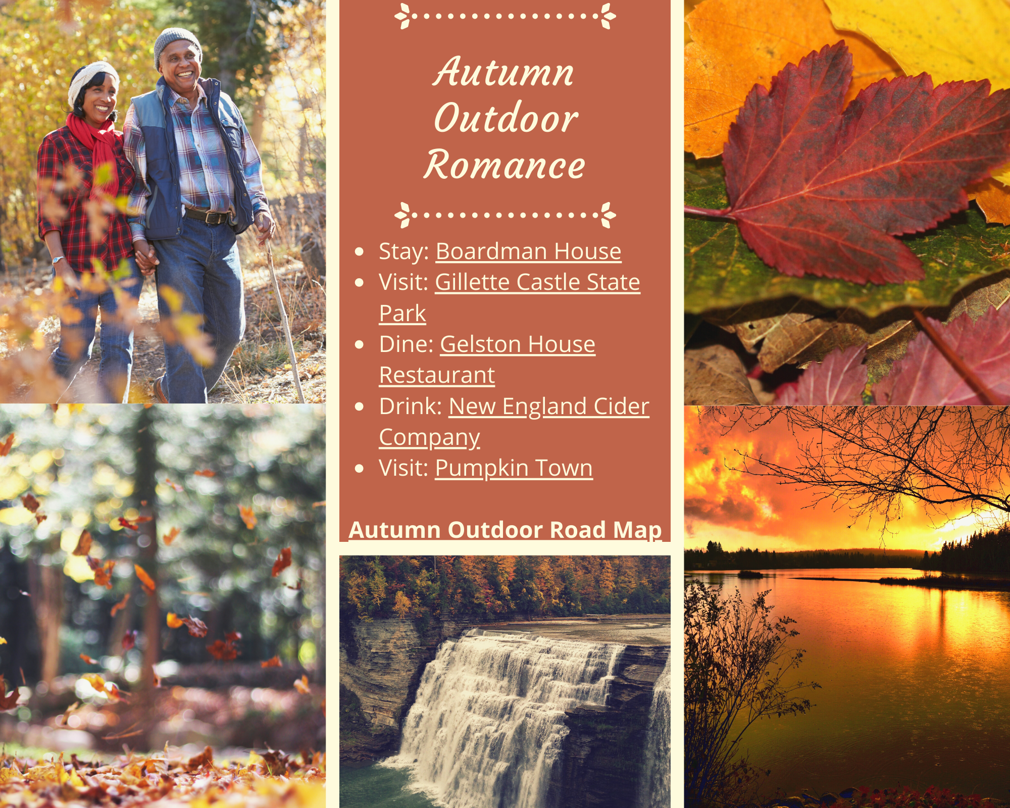Autumn Outdoor Romance
