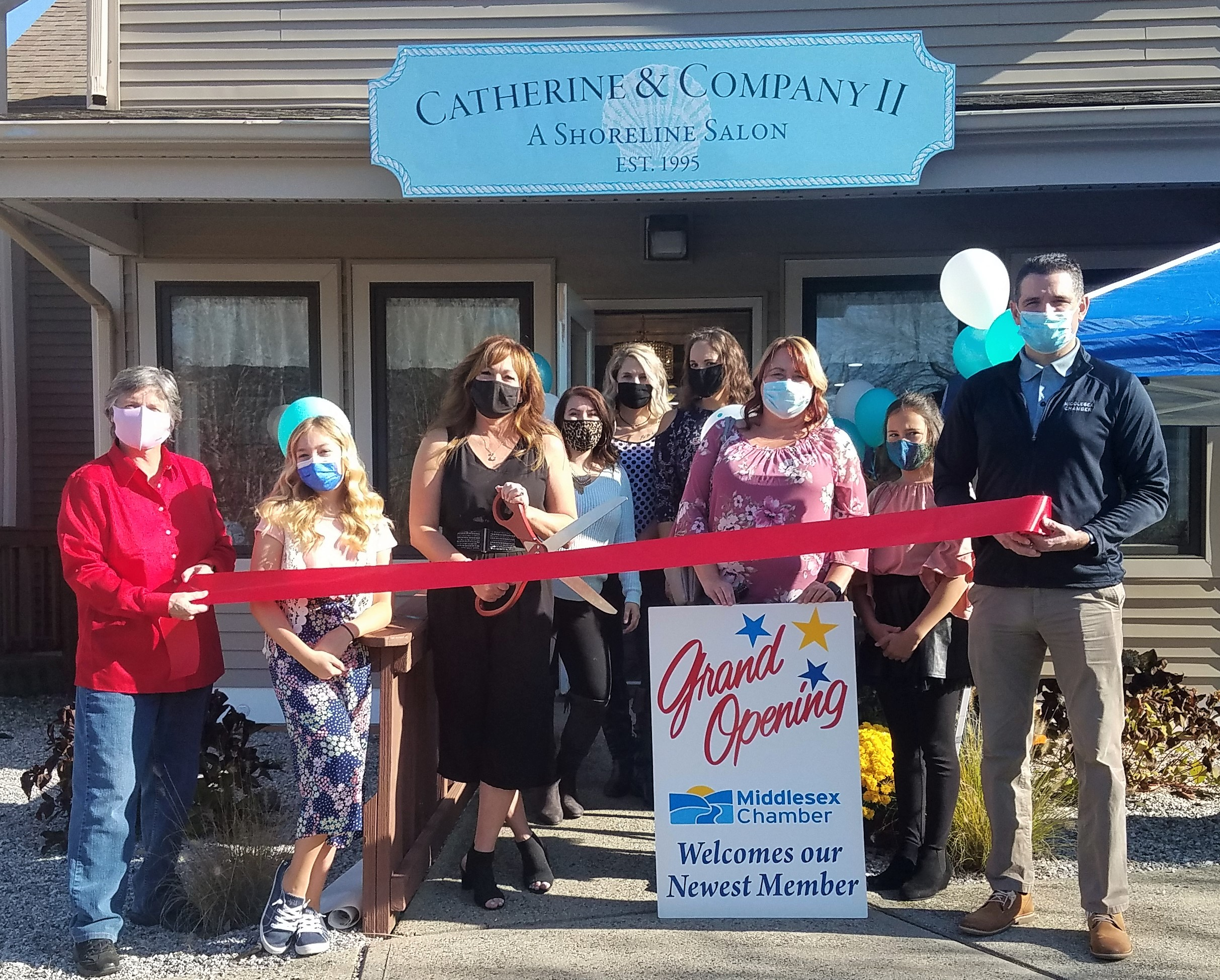 Grand Opening Photo Catherine and Company