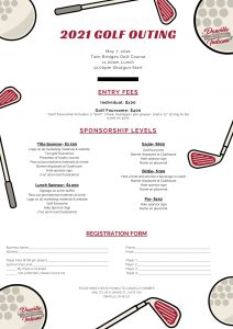 2021 golf outing registration form