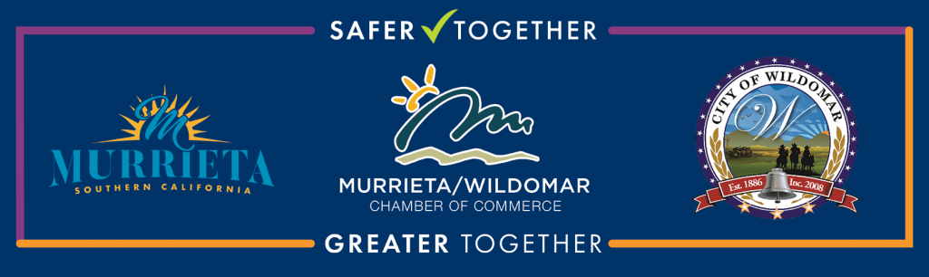 Safer Together, Greater Together Seal to indicate commitment to safety