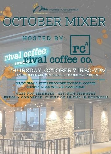 October Mixer Flyer