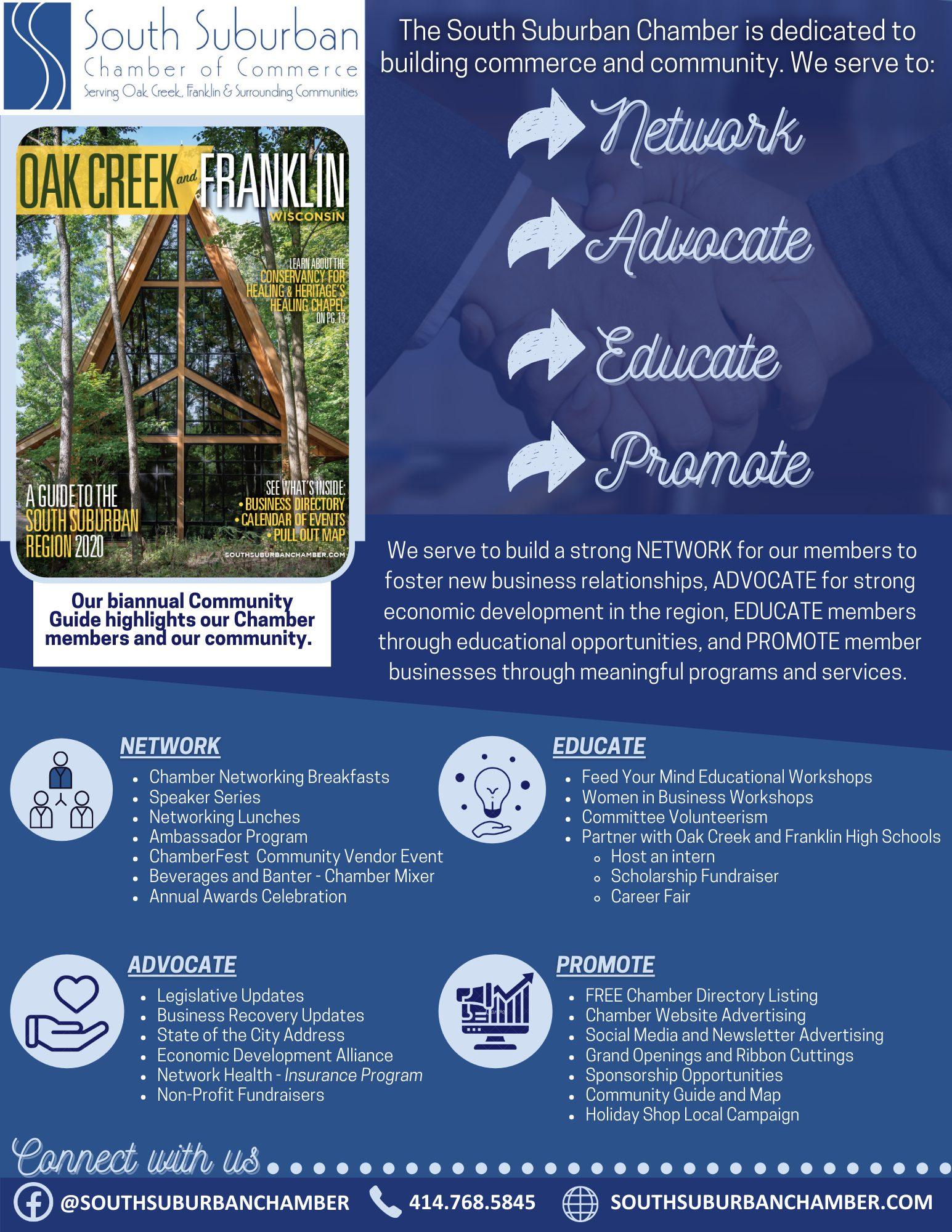 Chamber Benefits Infograph