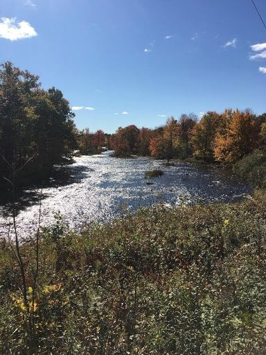 The Raquette River from the Red Sandstone Trail – southern end of Sugar Island, Potsdam, NY.