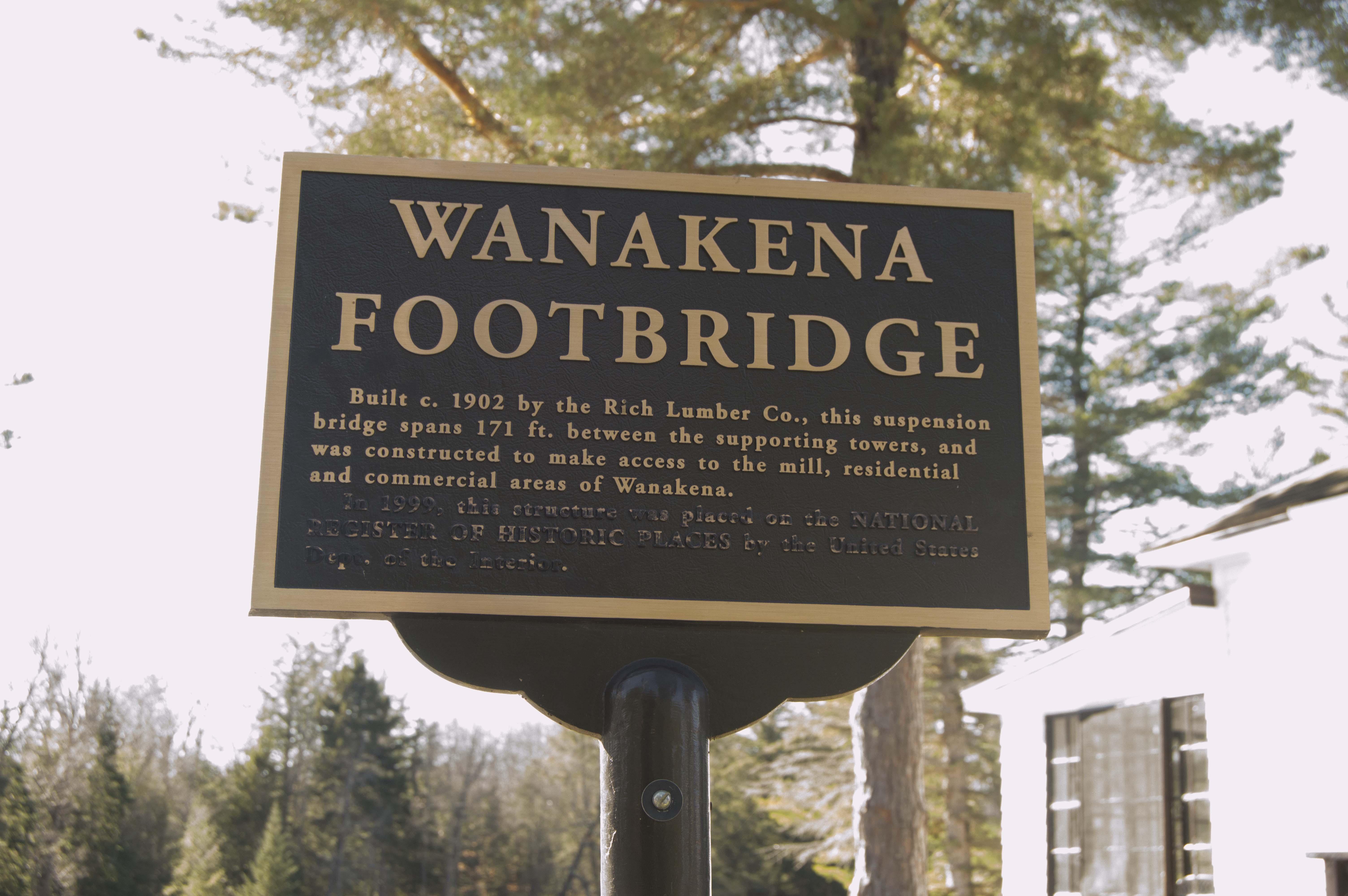 footbridge sign 1
