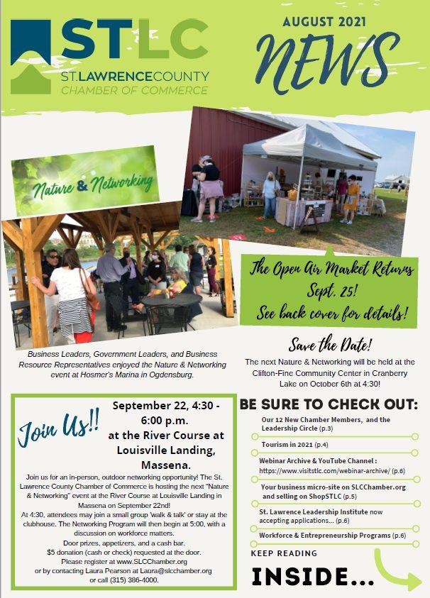 STLC Chamber Newsletter August 2021