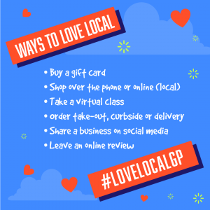 LoveLocalGP - Instagram - Ways to Love Local