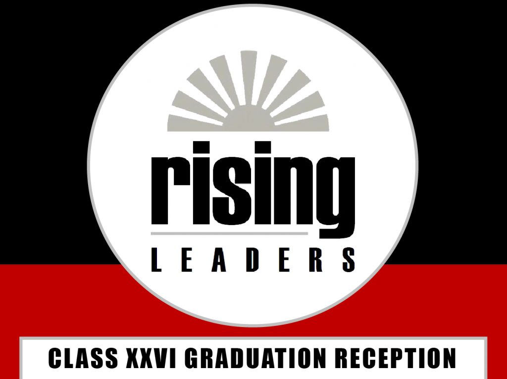 Rising Leaders Graduation Reception