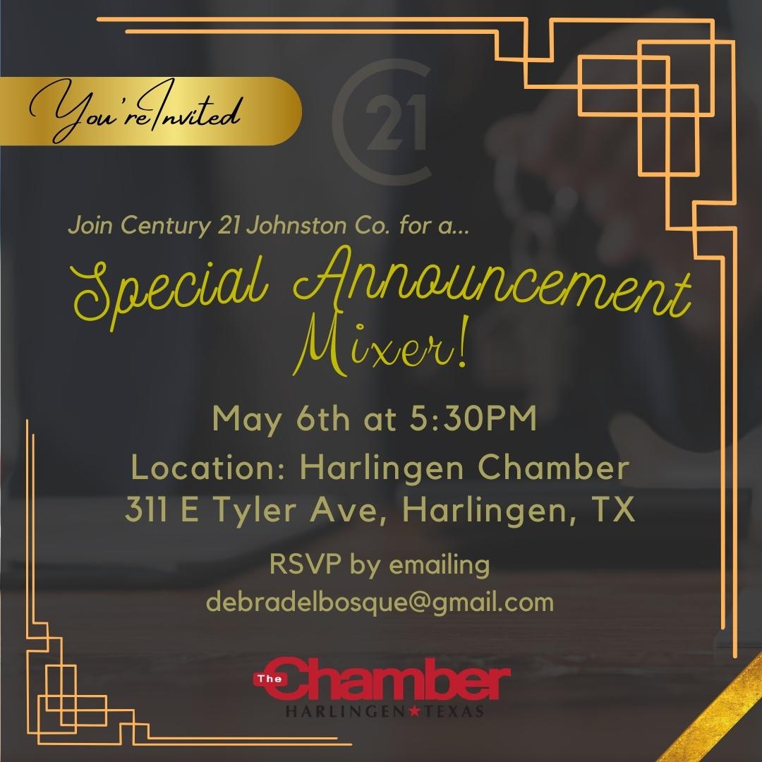 Century 21 Special Announcement Mixer