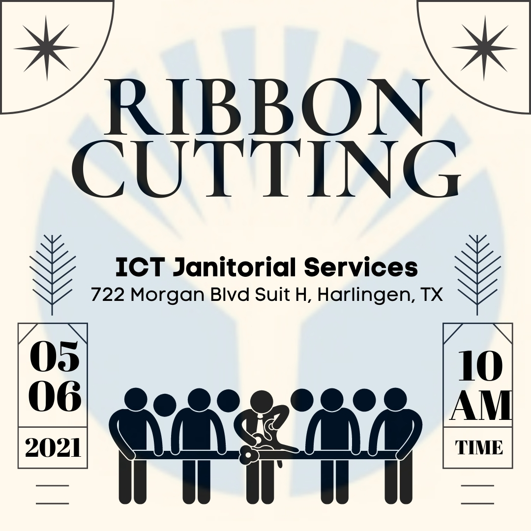 ICT Janitorial Ribbon Cutting