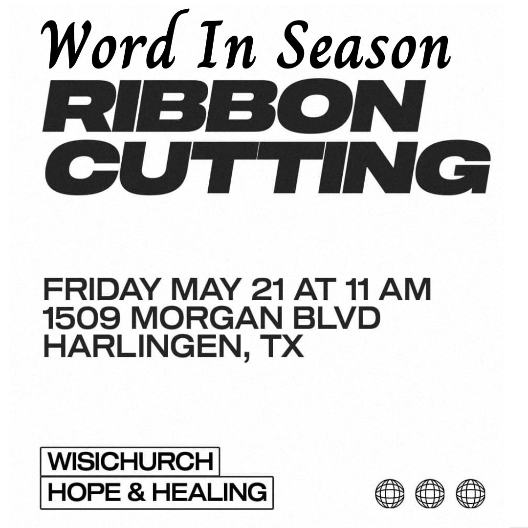 Word in Season Ribbon Cutting