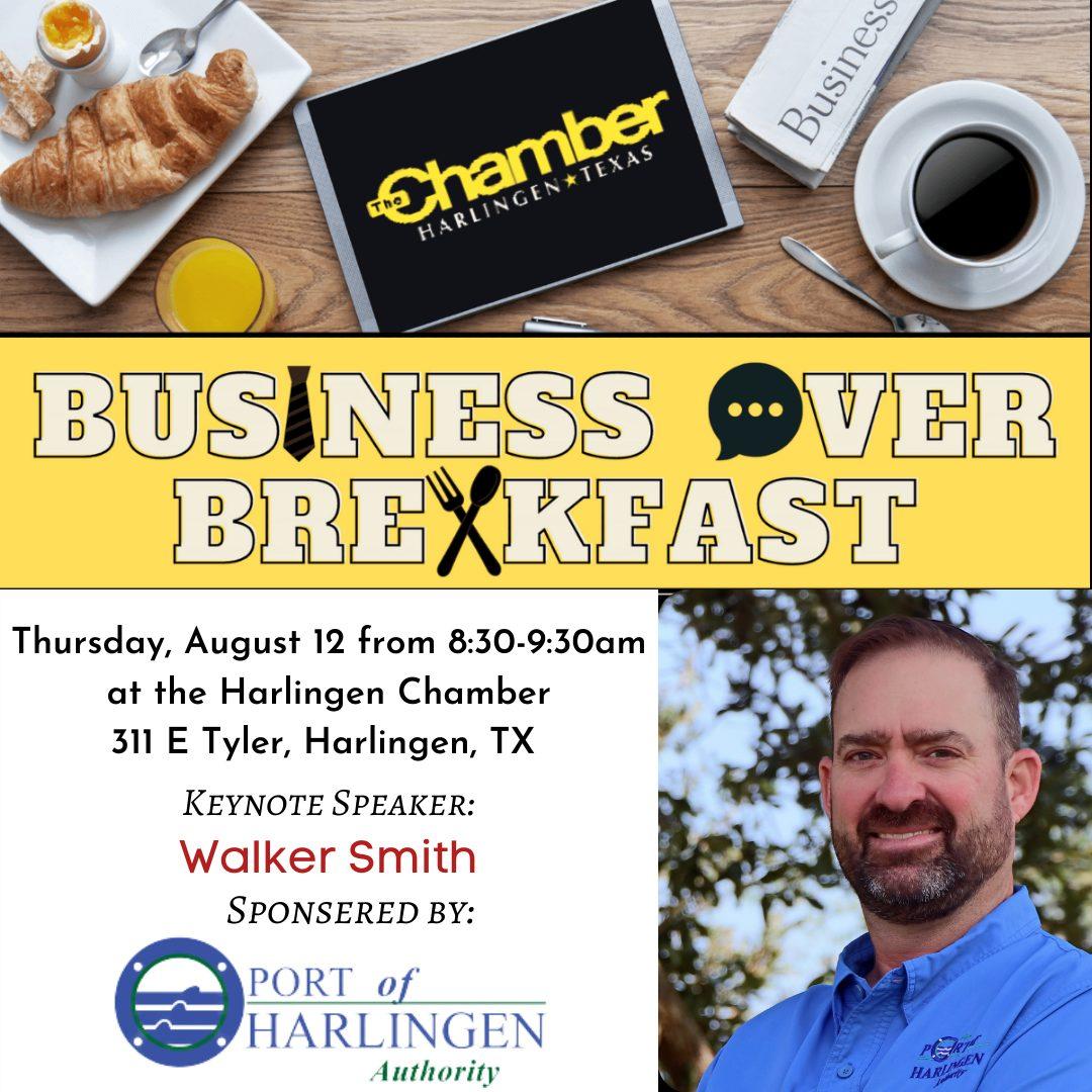 Business  Over Breakfast: Walker Smith - Port of Harlingen