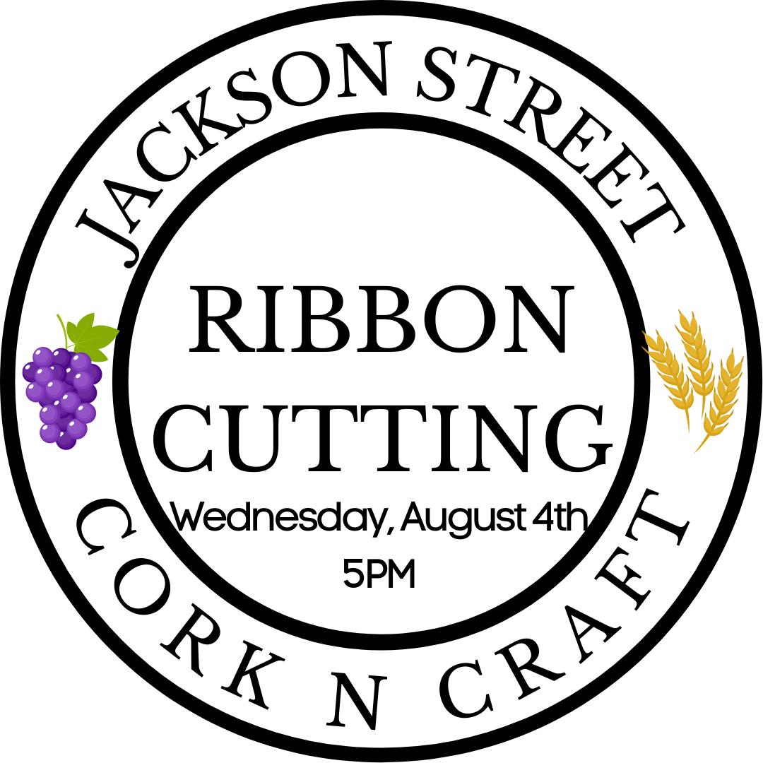 Jackson Street Cork N Craft Ribbon Cutting